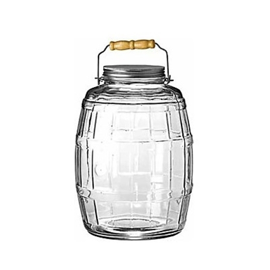 Picture of Anchor Hocking 2.5-Gallon Barrel Jar with Metal Lid & Handle