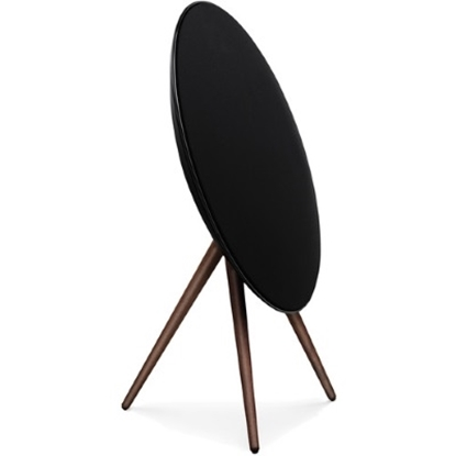 Picture of Bang & Olufsen BeoPlay A9 Speaker - Black with Walnut Legs