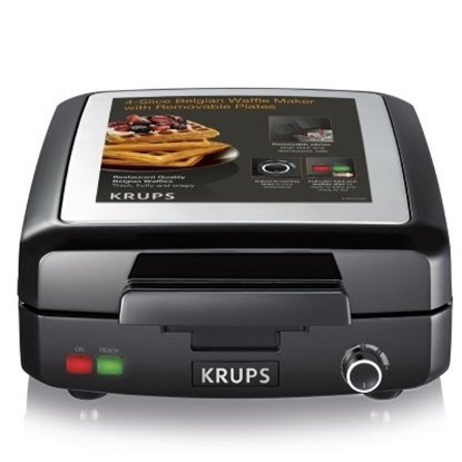 Picture of Krups Belgian Waffle Maker with Removable Plates