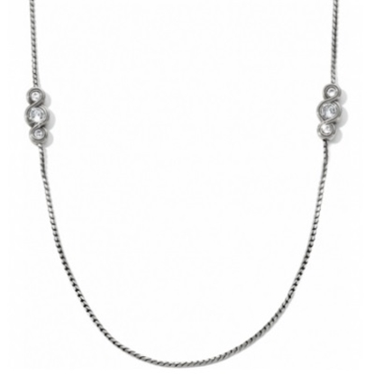 Picture of Brighton Infinity Sparkle Long Necklace