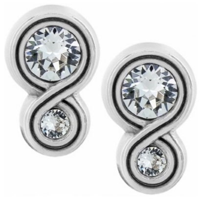 Picture of Brighton Infinity Sparkle Post Earrings
