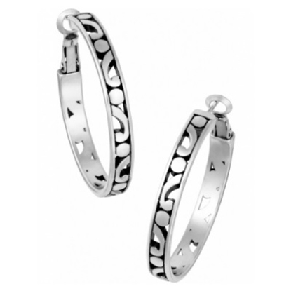 Picture of Brighton Contempo Medium Hoop Earrings