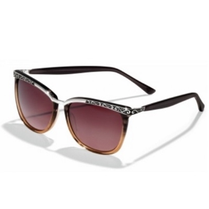 Picture of Brighton La Scala Sunglasses - Brown Fade
