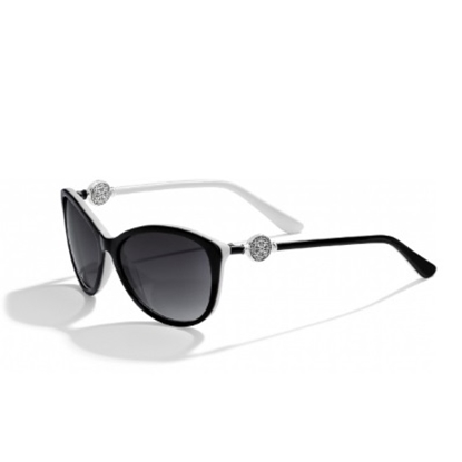 Picture of Brighton Ferrara Sunglasses - Black/White