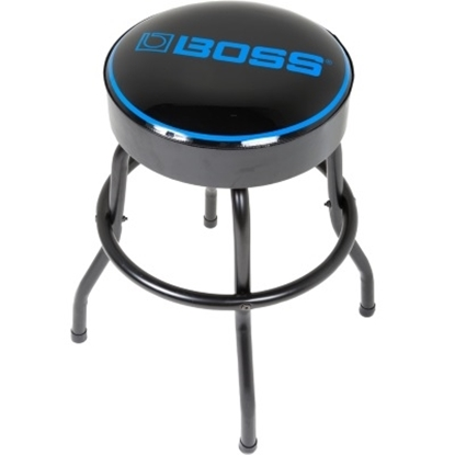 Picture of BOSS 30'' Logo Bar Stool - Steel Tube with Black Matte