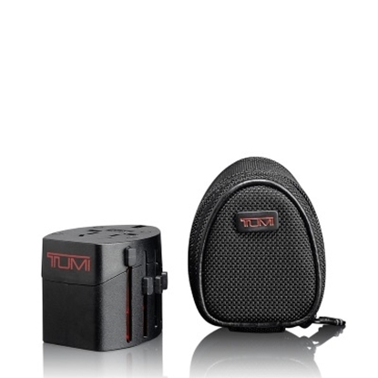 Picture of Tumi Electric Adapter with Ballistic Case - Black