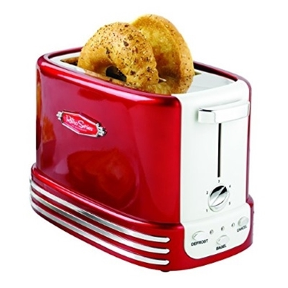 Picture of Nostalgia Electrics™ 50's Style Two-Slice Toaster - Red