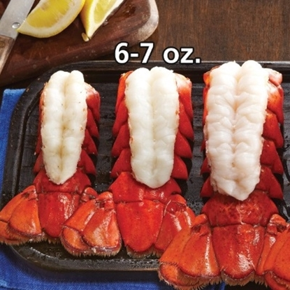 Picture of Lobster Gram's 6-7 oz. Maine Lobster Tail - 12 Pack