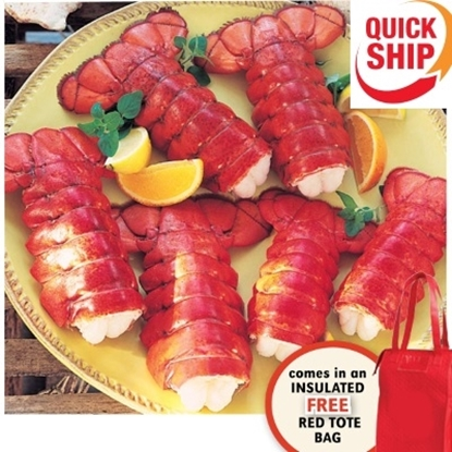 Picture of Lobster Gram Maine Tail 6-Pack Gift Bag - QuickShip