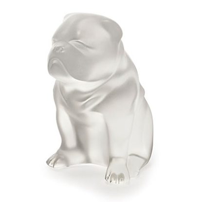 Picture of Lalique Bulldog Figure - Clear