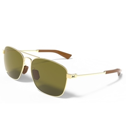 Picture of Under Armour Sport Rally Sunglasses - Gold & Brown/Green