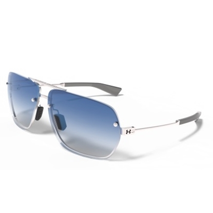 Picture of Under Armour Sport Hi-Roll Sunglasses - Silver/Blue Gradient