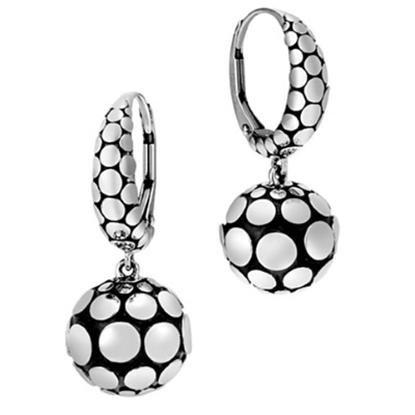 Picture of John Hardy Ladies' Dot Silver Drop Earrings