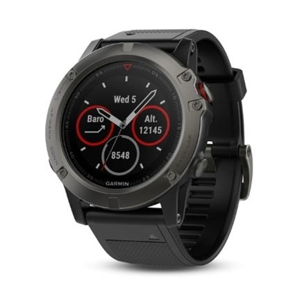 Picture of Garmin fenix® 5X Multisport GPS Watch - Sapphire Slate/Blk