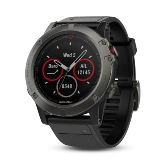 Picture of Garmin fenix® 5X Multisport GPS Watch - Sapphire Slate/Blk