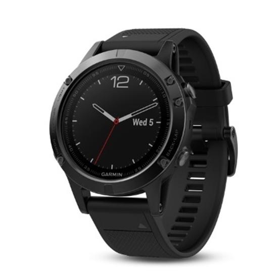 Picture of Garmin fenix® 5 Multisport GPS Watch- Sapphire Black/Black
