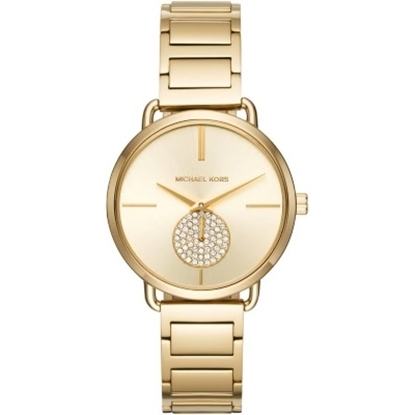 Picture of Michael Kors Portia Gold-Tone Stainless Steel Watch