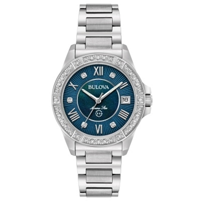 Picture of Bulova Marine Star Ladies' Watch with MOP Dial & 29 Diamonds