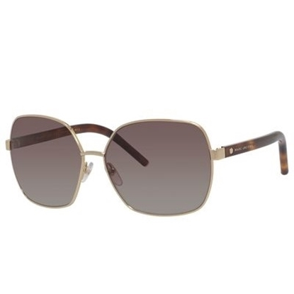 Picture of Marc Jacobs Oversized Sunglasses - Gold/Havana