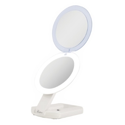 Picture of Zadro™ LED Lighted Travel Mirror - 1X/10X