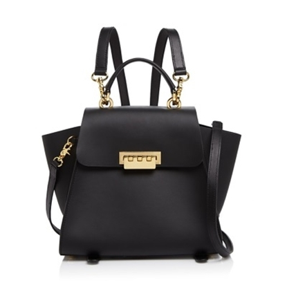 Picture of Zac Posen Eartha Iconic Convertible Backpack - Black