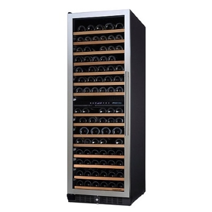 Picture of Wine Enthusiast N'FINITY PRO 166-Bottle Two-Zone Wine Cellar
