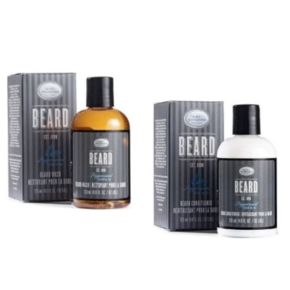 Picture of The Art of Shaving Peppermint Beard Shampoo & Conditioner Set