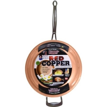 Picture of Telebrands® Red Copper 12'' Frying Pan
