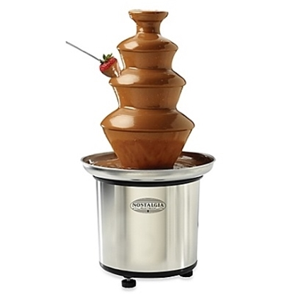 Picture of Nostalgia Electrics Chocolate Fondue Fountain