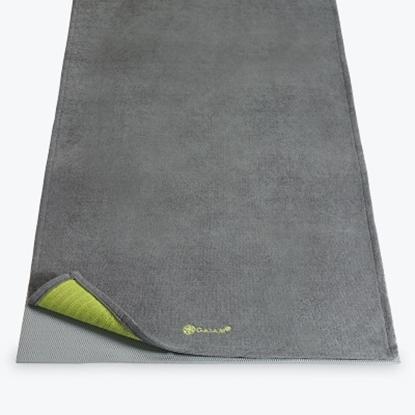 Picture of Gaiam Citron Storm Grippy Yoga Towel