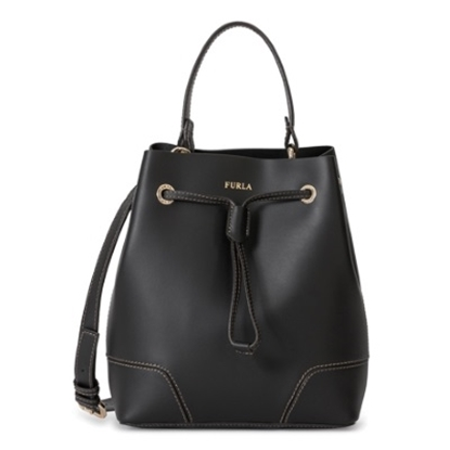 Picture of Furla Stacy Small Drawstring - Onyx