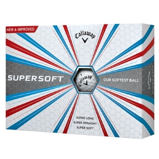 Picture of Callaway Supersoft Golf Balls - 2 Dozen