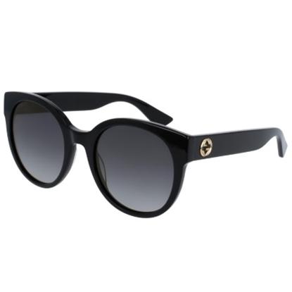 Picture of Gucci Urban Pop Nylon Round Frame Sunglasses - Black/Grey