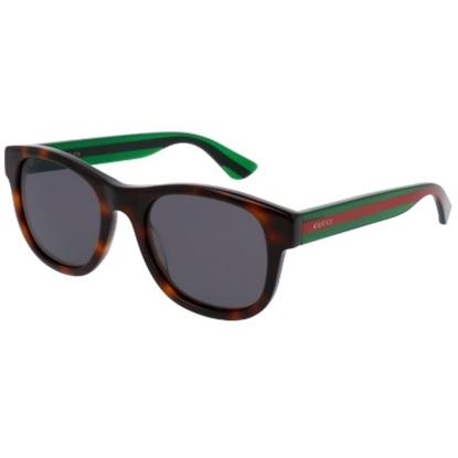 Picture of Gucci Urban Pop Nylon Wayfarer - Havana/Green Striped