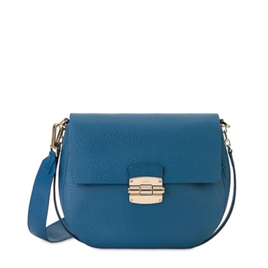 d2dfc53520a6 Picture of Furla Club Small Crossbody - Blu Ginepro. This bold and  glamorous purse ...