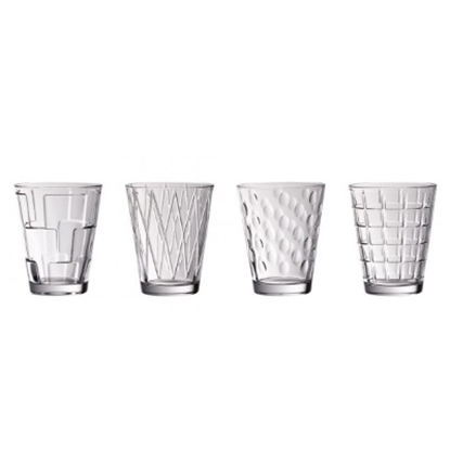 Picture of Villeroy & Boch Dressed Up Tumblers - Set of 4