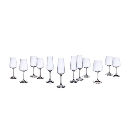 Picture of Villeroy & Boch Ovid 12-Piece Crystal Glassware Set