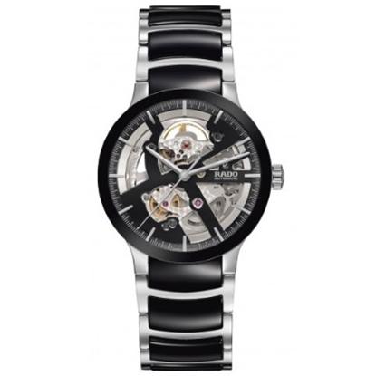 Picture of Rado Centrix Steel/Ceramic Auto Open Heart Two-Tone Watch