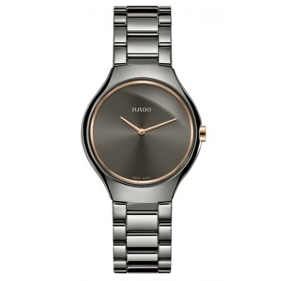 Picture of Rado 30mm True Thinline Quartz Plasma Ceramic Watch