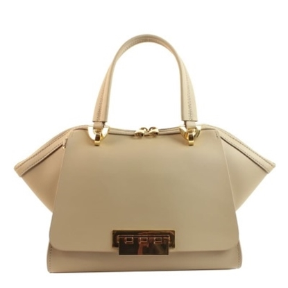 Picture of Zac Posen Eartha Iconic Small Double Handle Satchel - Beige