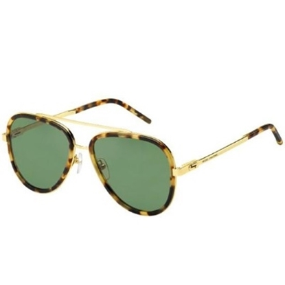Picture of Marc Jacobs Men's Spotted Havana/Green Sunglasses