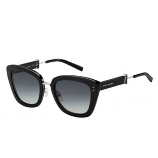Picture of Marc Jacobs Rectangular Sunglasses - Black/Dark Grey Gradient