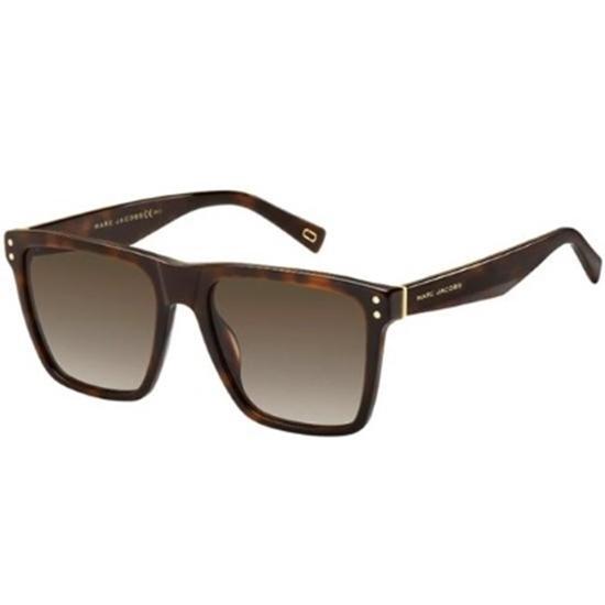Picture of Marc Jacobs Havana Medium/Brown Gradient Sunglasses