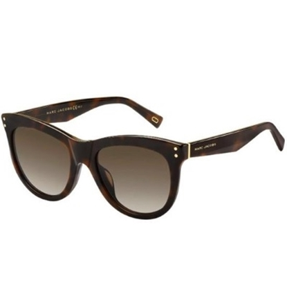 Picture of Marc Jacobs Cat-Eye Sunglasses - Havana Medium/Brown Gradient