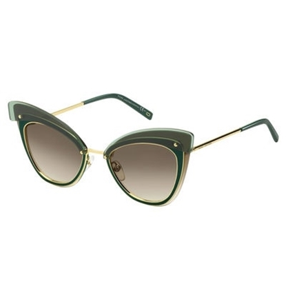 Picture of Marc Jacobs Cat Eye Sunglasses - Gold/Brown Gradient