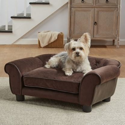Picture of Enchanted Home Pet Cleo Sofa - Brown