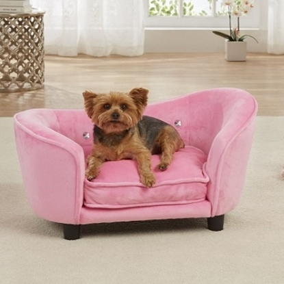 Picture of Enchanted Home Pet Ultra Plush Snuggle Bed - Light Pink