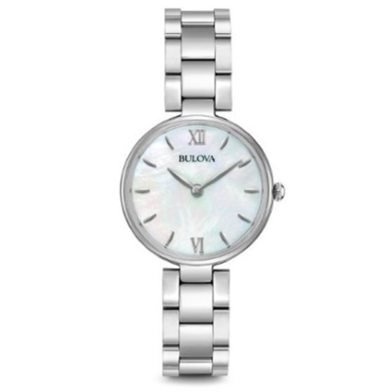 Picture of Bulova Classic Quartz Stainless Steel Watch with MOP Dial
