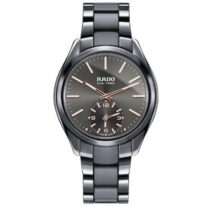 Picture of Rado Hyperchrome Dual Timer XL Touch Grey Watch
