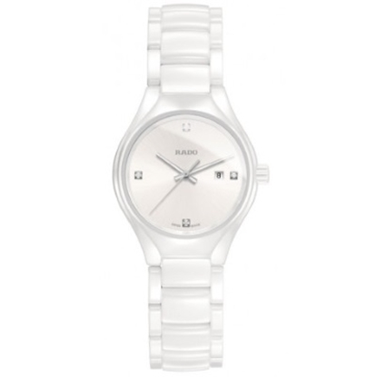 Picture of Rado Ladies' True Quartz White Ceramic Watch